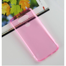 Transparant Silicone Case G5 H850 - Roze