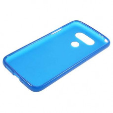 Transparant Silicone Case G5 H850 - Blauw