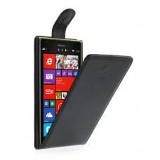Nokia Lumia 1520 flip case hoesje - klaphoesje - zwart