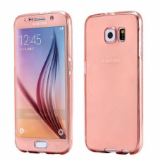 360 Front and Back Shockproof Skin Galaxy S7 - Rose-Gold