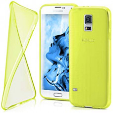 Hoesje Coolskin3T Galaxy S5 / S5 Plus - Geel