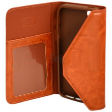 Wrap Book Case Note 4 N910F - Bruin