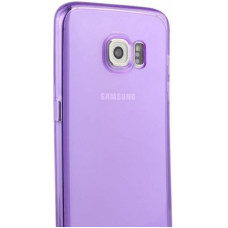 Transparent Silicone Case Galaxy Note 5 N920F - Paars