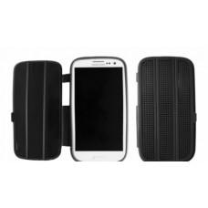Silicone Bookcase Slimfit voor Galaxy S3 i9300 - Zwart