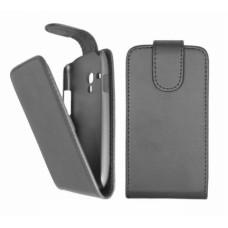 Flip Case Luxe NEW S3 Mini i8190 - Zwart