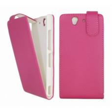 Flip Case Luxe Xperia Z L36H - Roze