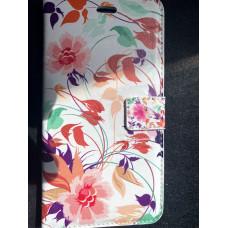 Book Case Bloemen iPhone 6 Plus