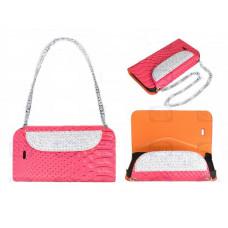 Lady Bag Bling Bling Note 2 N7100 - Roze