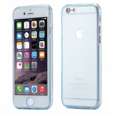 360 Front and Back Shockproof Skin iPhone 6/6S - Blauw