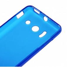 TPU Case voor Ascend Y300 - Blauw